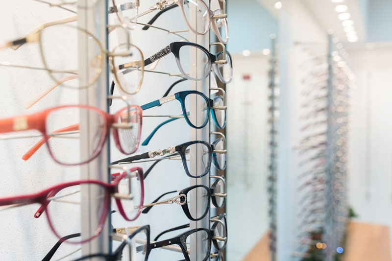 Eyeglasses and Eyeglass Frame Collections